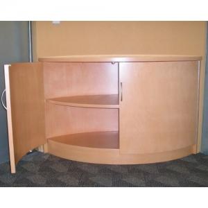 Mueble de apoyo para sala de juntas