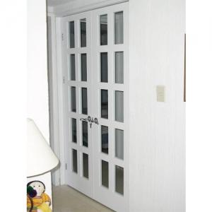 Puerta con vidrios